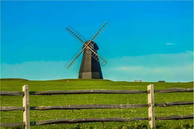 Picture Of England Windmill