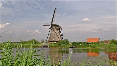 Picture Of Netherlands Kinderdijk Windmills