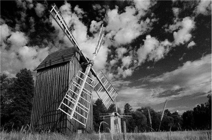 Picture Of Poland Windmill