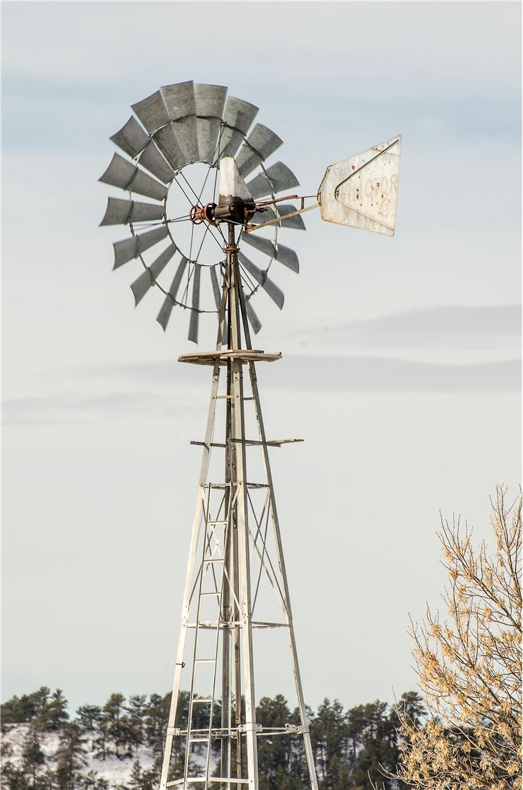 Picture Of Wind Water Pump Windmill Turbine