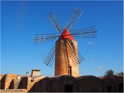 Picture Of Windmill Algaida