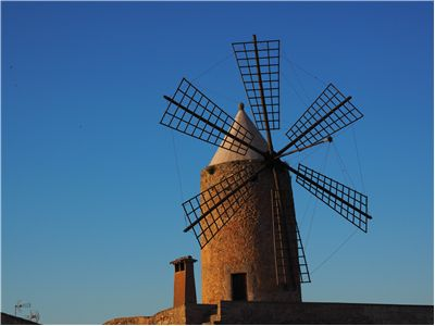 Picture Of Windmill Mallorca