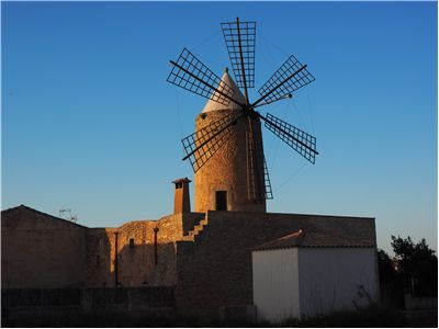Picture Of Windmill Mallorca Wind Energy