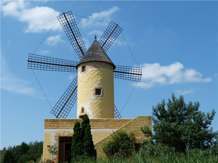 Picture Of Windmill Old