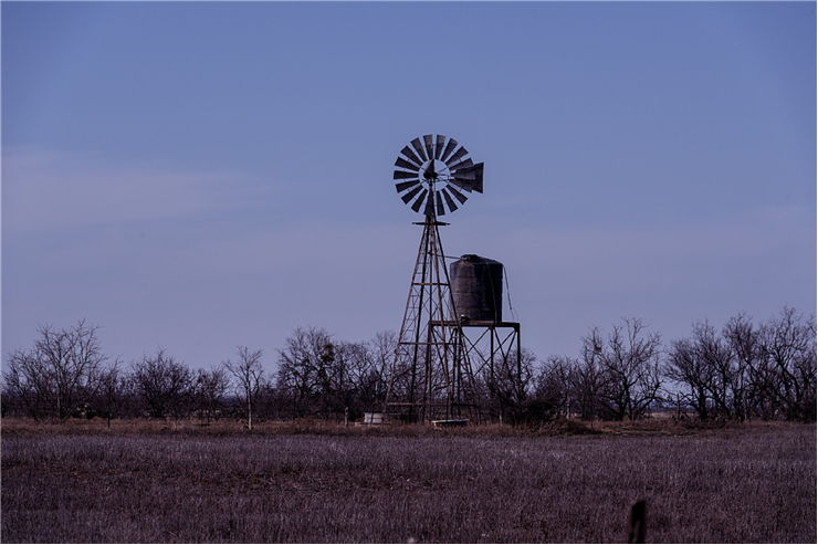 Picture Of Windmill Waterpump