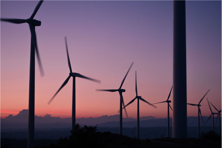 Picture Of Windmills Energy